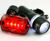 Bicycle Mountain BMX Bike Cycle LED Lights Lamp Front and Rear