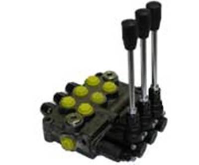Prince Wolverine 3 Spool Hydraulic Valve Mb31bbb5c1 8 Gpm 3500 Psi 8 Sae Ports