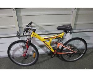 Maybe trade bikes?? Mountain for bmx?