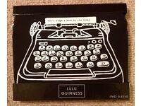 Brand new designer Lulu Guinness iPad cover