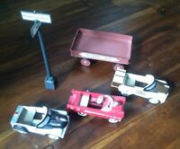 Mini Metal Peddle Car Collectibles