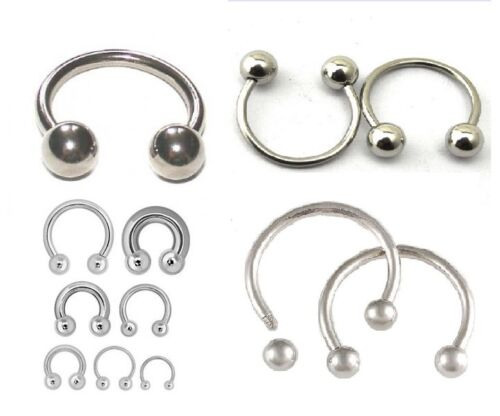 Body Piercing Jeweller Horseshoe Septum Piercing Nose Lip Ring Ear