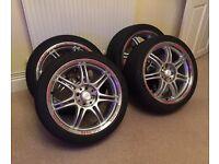 """Alloy Wheels 4 x 100 17"""" Momo Corse"""