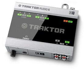 TRAKTOR scratch pro 2 soundcard - A6 Audio 6