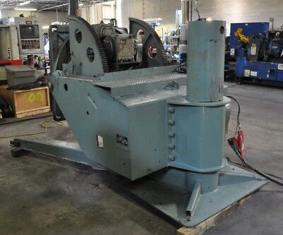 6000 Lb. Worthington 60p Welding Positioner Wired 220 Volts 46 Square Platen