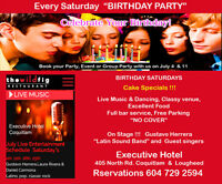 "Birthday Party   ""Every Saturday"""