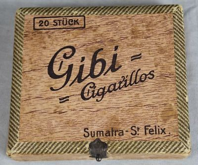 Gibi - Cigarillos Sumatra St. Felix  leere Zigarrenkiste für 20 Cigarillos /S280