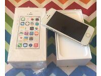 Apple iPhone 5S 16GB Silver Unlocked