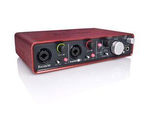 Scarlett 2i4 USB Audio Interface
