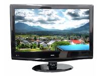 Bush 22 inch HD Ready Digital LCD TV with HDMI USB and Freeview