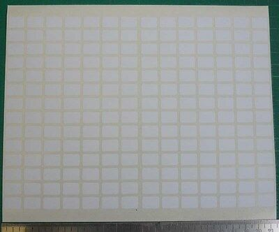 196 Small Sticky White Label 9x13 Mm Price Tag Blank Marker Self Adhesive