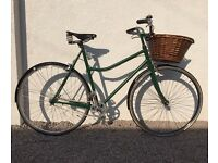 Vintage Town Bicycle with Brooks Seat