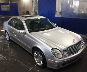 Mercedes E500 w211/ Very clean in and outside/ LOW km!!