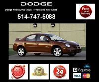 Dodge Neon - Spindles and Axles • Broches et Essieux