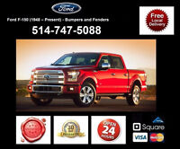 Ford F-150 - Fenders and Bumpers • Ailes et Pare-chocs