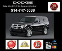 Dodge Nitro - Fenders and Bumpers • Ailes et Pare-chocs