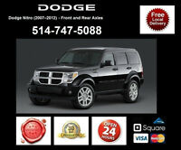 Dodge Nitro - Spindles and Axles • Broches et Essieux