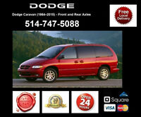 Dodge Caravan - Spindles and Axles • Broches et Essieux