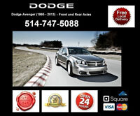 Dodge Avenger - Spindles and Axles • Broches et Essieux