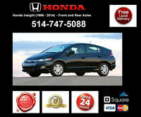 Honda Insight – Spindles and Axles • Broches et Essieux
