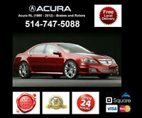 Acura RL - Brakes and Rotors • Freins et Disques