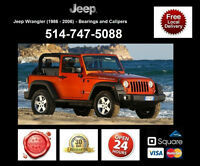Jeep Wrangler – Bearings and Calipers • Roulements et étriers
