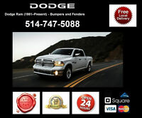 Dodge Ram 1500 - Fenders and Bumpers • Ailes et Pare-chocs