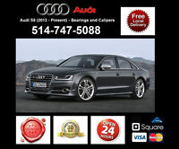 Audi S8 - Bearings and Calipers • Roulements et étriers