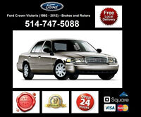 Ford Crown Victoria - Brakes and Rotors • Freins et Disques