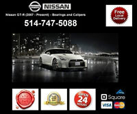 Nissan GTR – Bearings and Calipers • Roulements et étriers
