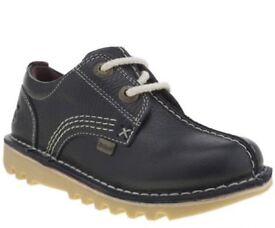 Navy toddler kicker shoes - 7