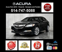 Acura RLX – Fenders and Bumpers • Ailes et Pare-chocs