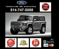 Ford Bronco - Shocks and Struts • Amortisseurs et Chocs