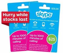 Skype Credit $25 e-GiftCard or pickup - 16% off Gift Card Docklands Melbourne City Preview
