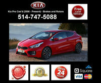 Kia Pro Ceed GT - Brakes and Rotors • Freins et Disques