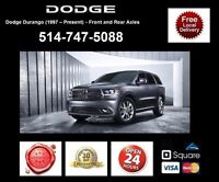 Dodge Durango - Spindles and Axles • Broches et Essieux