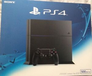 Ps4 sealed and new $400 (cheaper if u trade me PS3)