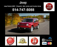 Jeep Patriot – Control Arms and Ball Joints • Bras Suspension