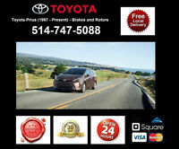 Toyota Prius - Brakes and Rotors • Freins et Disques