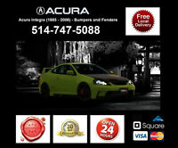 Acura Integra – Fenders and Bumpers • Ailes et Pare-chocs