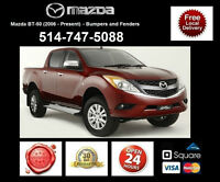 Mazda BT - Fenders and Bumpers • Ailes et Pare-chocs