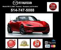 Mazda MX5 - Fenders and Bumpers • Ailes et Pare-chocs