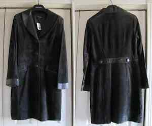 Danier Leather/Suede Coat Reduced