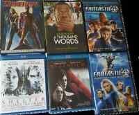 Films DVD et Blu-Ray