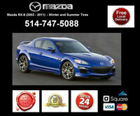 Mazda RX8 - Winter and Summer Tires • Pneus D'Hiver et Ete