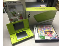 Nintendo ds lite boxed with accessory and game