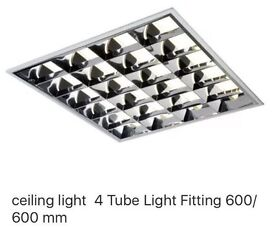 Ceiling lights units 600x600 with tube lights