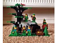 Lego Castle Camouflaged Outpost New