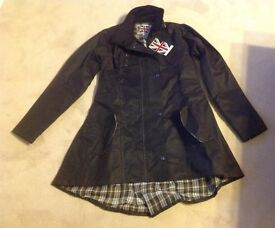 Ladies riding coat size small brand new