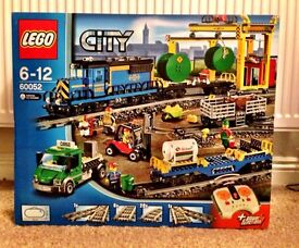Lego City Cargo Train New